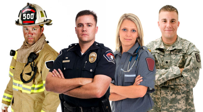 Cops and firefighters dating service