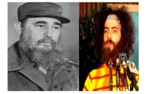 (Fidel Castro, Jerry Rubin)