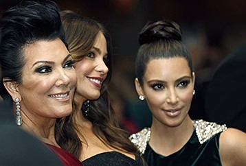 The Kardashians at the 2012 WHCA Dinner (Photo:AP)