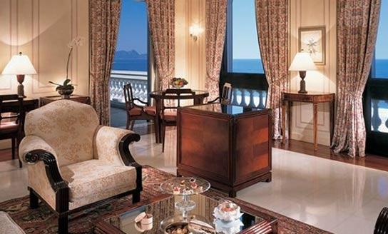 The Brazilian penthouse suite  at the Copacabana Palace in Rio de Janeiro